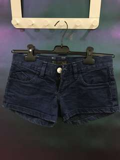Denim Hot Short Pants
