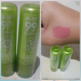 Aloe vera magic lipstick