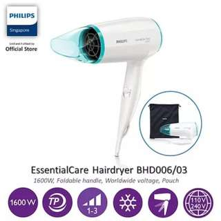 Philips Hair Dryer - Essential Care