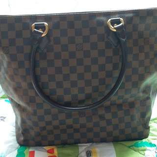 Louis Vuitton Damier Ebebe Saleya Shoulder Tote bag