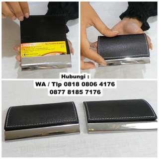 Jual Tempat Kartu Nama Kulit - business card holder NC9106