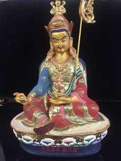 Tibetan Guru Rinpoche Padmasambhava Statue