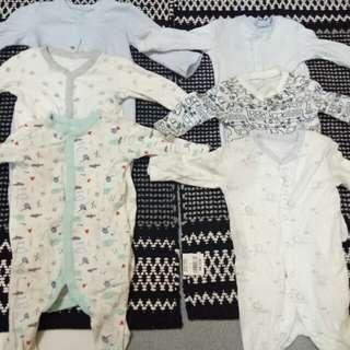 Over all clothes for 3-12months baby