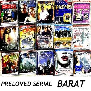 PRELOVED DVD SERIAL BARAT