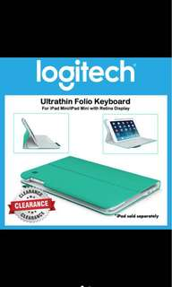 Logitech iPad mini Bluetooth keyboard