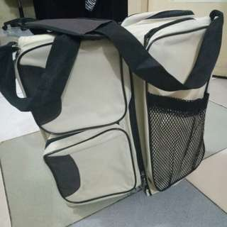 Baby' Travel Bed and Bag