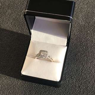 1 Ct Diamond Engagement Ring