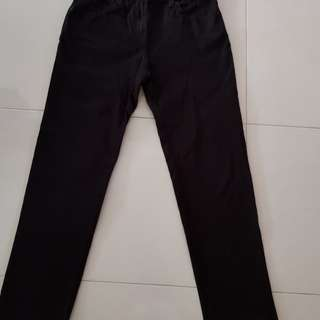 Women's black long pants