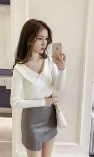 Casual top (white)
