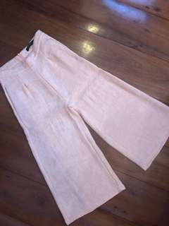 SM WOMENS Pink Culottes