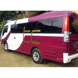 Sewa mobil wisata ELF (16 - 18 seat) di Jakarta, murah dan berkualitas. Hanya 1,35 juta + driver + BBM.