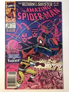 Amazing Spider-Man # 335