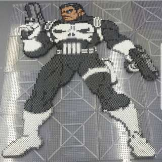 Hama beads design Thor ragnarok the punisher marvel