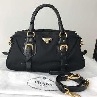 Authentic Prada 2 Way Bag