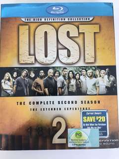 Lost season 2 blue ray