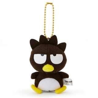 Japan Sanrio Bad Badtz Maru Mascot Doll Toy Chain Holder (Natsukashi Series)