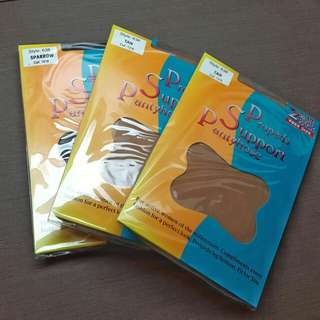 NEW!! Propeds Smooth & Sheer Support Panty Hose (2-Pair Pack)