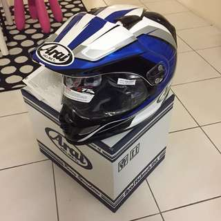 ARAI TOUR CROSS FLARE BLUE