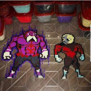 Hama beads design Dragon Ball Z Characters Jiren GOD Toppo