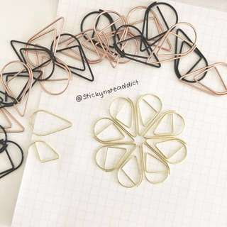 [INSTOCKS] Tear shaped paper clips
