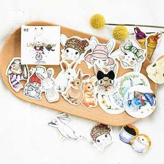 [PO] SUPER CUTE Bunny stickers