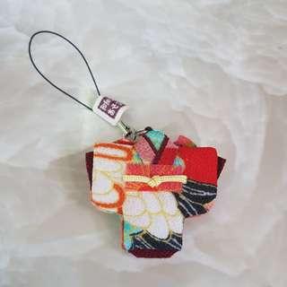 New Chirimen Japanese Kimono/ Yukata keychain strap