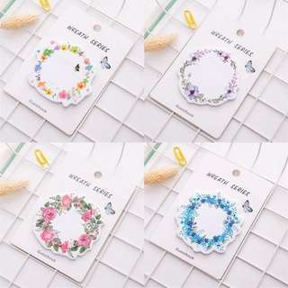 [PO] Wreath series sticky note