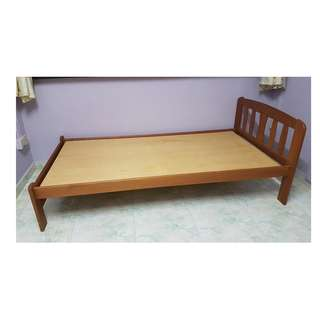 Real Wood Single Bed Frame