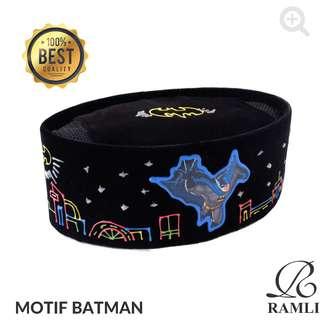 Songkok Lukis Anak Motif Batman