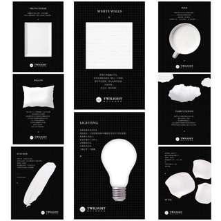 [PO] White series/objects sticky note