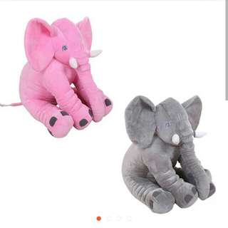 Elephant Plush Toy (big size 60cm)