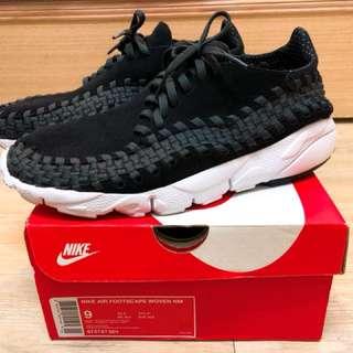 Air Footscape Woven Black 編織鞋 (黑)Nike