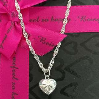 925Silver Necklace With Pendant