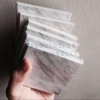[PO] Marble sticky notes square