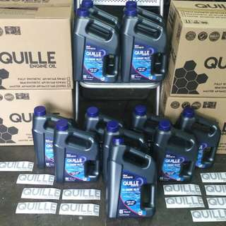 QUILLE 10W40 ENGINE OIL + OIL FILTER