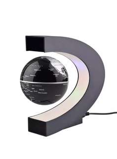 One of a kind magnetic hovering LED lit globe-definitely to wow your guests.