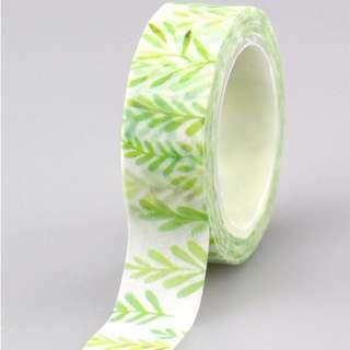 [PO] Leaf / plant washi tape