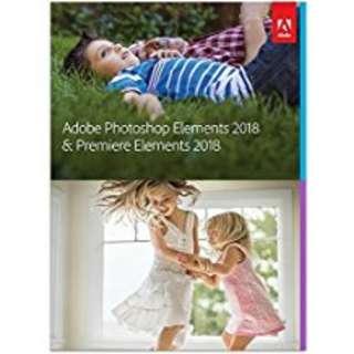 Adobe Photoshop Elements & Premiere Elements 2018 (Win/Mac)