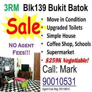 HDB 3NG Flat For Sale