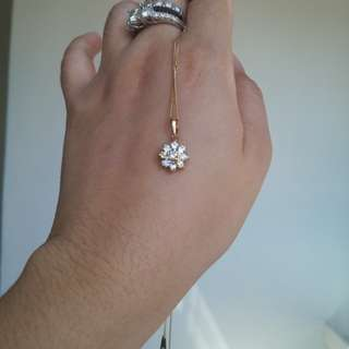 18Karat .40 cwt Rositas Diamond Necklace