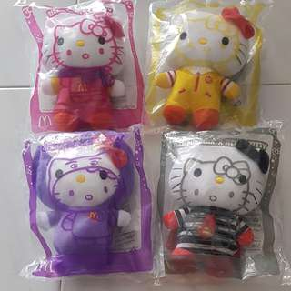 Hello Kitty Macdonalds Plushies