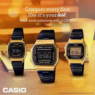 Authentic Casio New Release