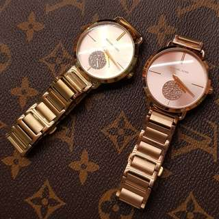 Michael Kors Portia in rosegold and gold tone
