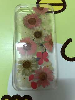 押花 iphone case 5s/se/5