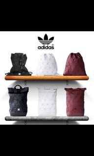Adidas Issey-Miyake roll up bag