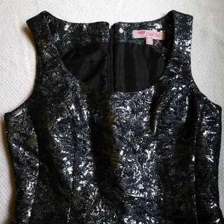 ASOS Metallic Dress