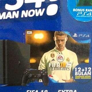 Kredit PS4 Pro 1Tb +Game Fifa18 Tanpa Kartu Kredit