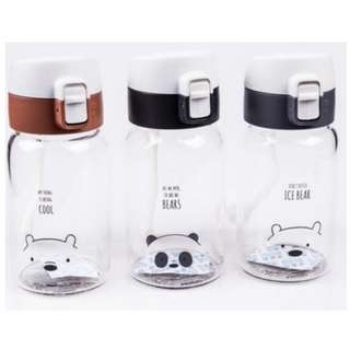 Bare Bear Miniso Water Bottle