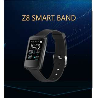Z8 Super Slim Big Display With Blood Pressure, Blood Oxygen and Heart Rate