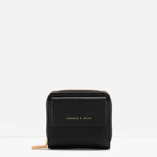 Charles & Keith Mini Wallet Black
